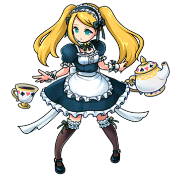 Gear-Alice (French Maid) Render