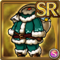 Gear-Green Santa Costume Icon