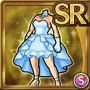 Gear-Blue Wedding Dress Icon