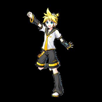 Gear-Kagamine Len Render