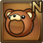 Gear-Bear Head Icon