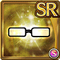 Gear-Black Thin Rim Glasses Icon