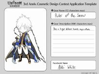 Cosmetic Design Contest-Ruler of the Snow Entry