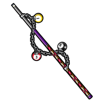 Gear-Legendary Pool Cue Render