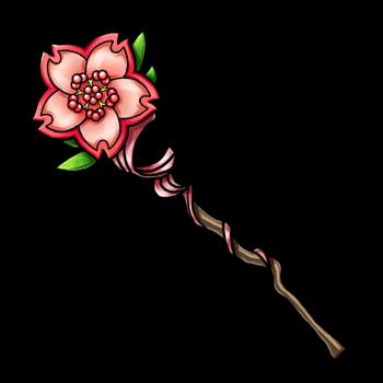 Gear-Cherry Blossom Tree Render