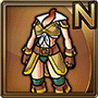 Gear-Leather Armor (F) Icon