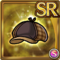 Gear-Deerstalker Hat Icon