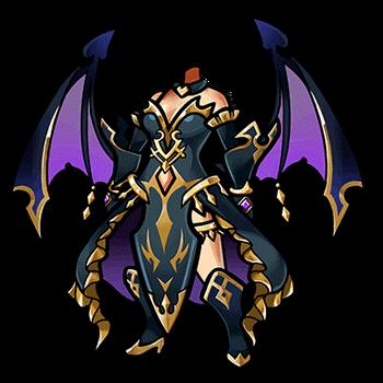 Gear-First Demon's Dress Render