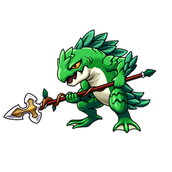 Gear-Leaf Sahuagin Render
