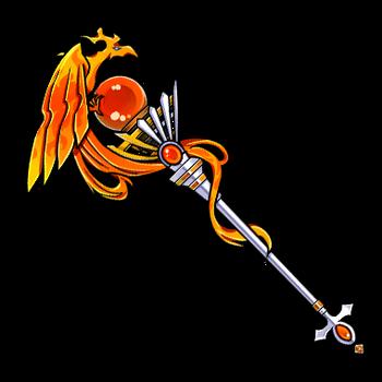 Gear-Phoenix- Holy Staff Render