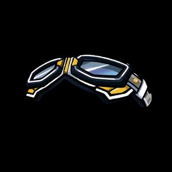 Gear-Black Goggle Cap Render