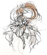 Gear-Shinatobe, Wind Caller Rough Sketch 001
