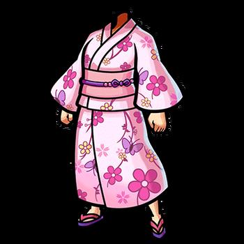 Gear-Cherry Blossom Yukata Render