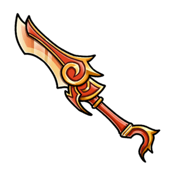 Gear-Flame Sword Render