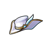 White Knight's Fedora (Gear)