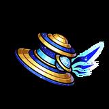 Gear-Galactic Sorcerer Hat Render