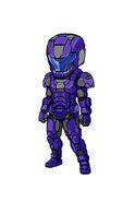 Gear-Tech Marine Helm E.VI and Tech Marine Suit E.VI Illustration 003
