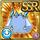 Gear-Mermaid Hat Icon
