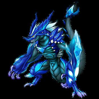 Gear-Silver Dragon Avsaris Render