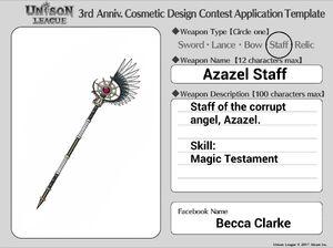 Cosmetic Design Contest-Azazel Staff Entry