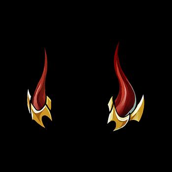 Gear-True Demon King's Horns Render