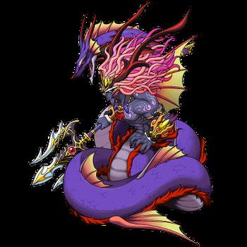 Gear-Dragon Leviathan Render