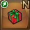 Gear-Small Red Present Icon