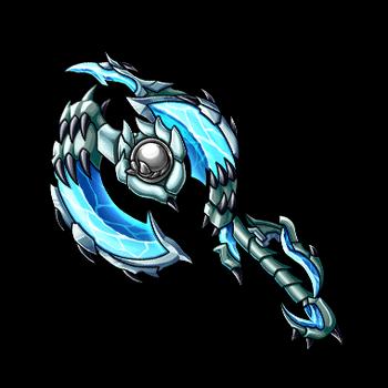 Gear-Lake Dragon Axe Render