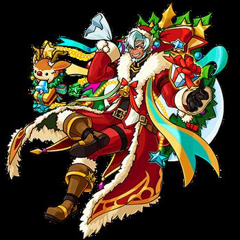 Gear-Santa Claus Render