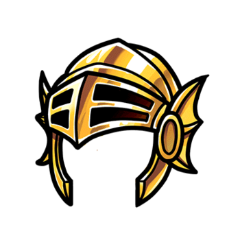 Gear-Golden Helm Render
