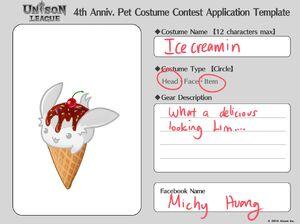 Cosmetic Design Contest-Ice creamin Entry