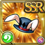 Gear-White Rabbit's Hat Icon
