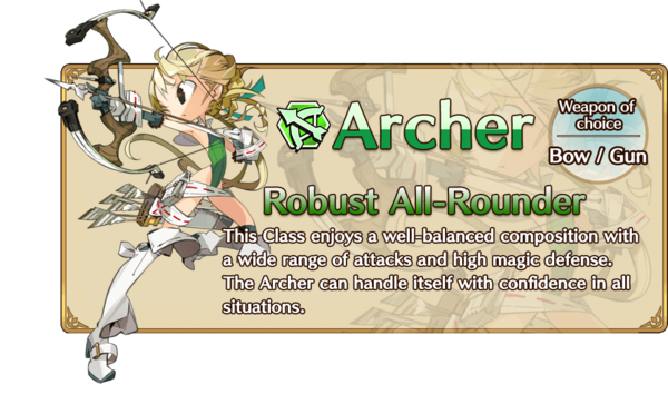 Class-Archer Information