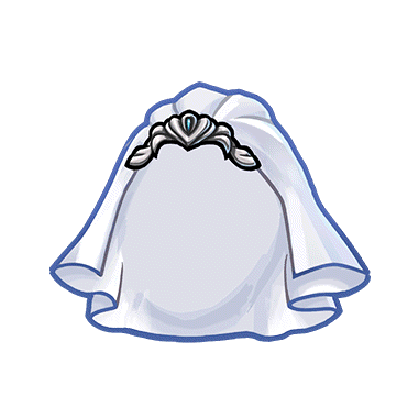 Image Gear White Wedding Veil Renderpng Unison League Wikia
