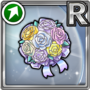 Gear-White Bouquet Icon