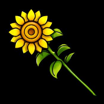 Gear-Sunflower Render