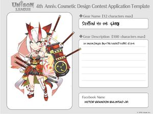 Cosmetic Design Contest-SENTOU NO ONI GARB Entry