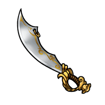 Gear-Pirate Sword Render
