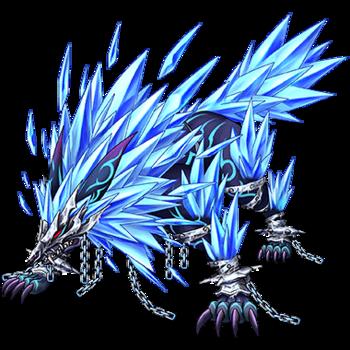 Gear-Fenrir, Wolf of Chaos Render