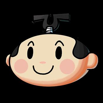 Gear-Cartoon Samurai (Head) Render