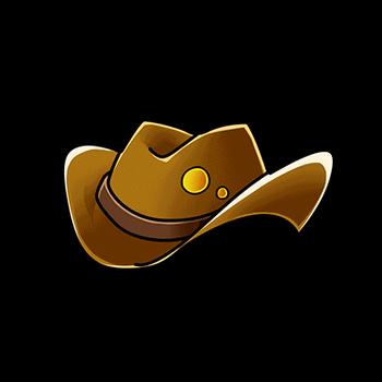 Gear-Brown Ten-Gallon Hat Render