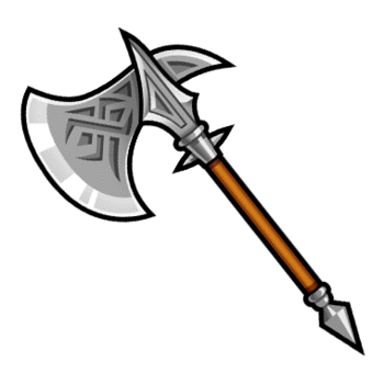 Gear-Heavy Axe Render