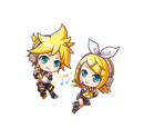 Tiny Rin & Len (Gear)