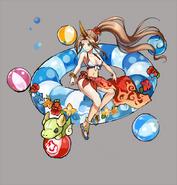 Gear-Shinatobe, Beach Queen Rough Sketch 001