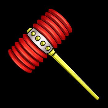 Gear-Toy Mallet Render