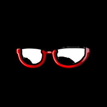 Gear-Under Rim Glasses Render