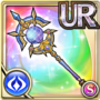 Gear-Solar Staff- Wisdom Icon