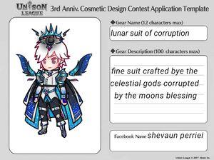 Cosmetic Design Contest-lunar suit of corruption Entry