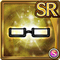 Gear-Black Half Rim Glasses Icon
