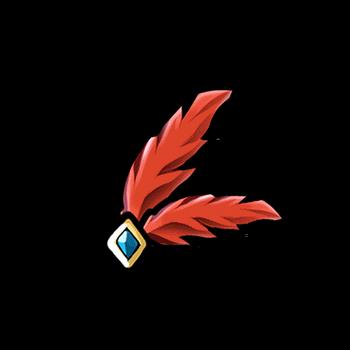 Gear-Red Marksman Plume Render